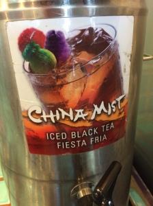 China mist tea
