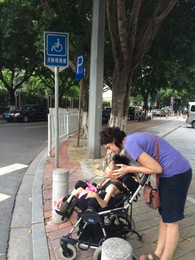 Annie & Mama walk