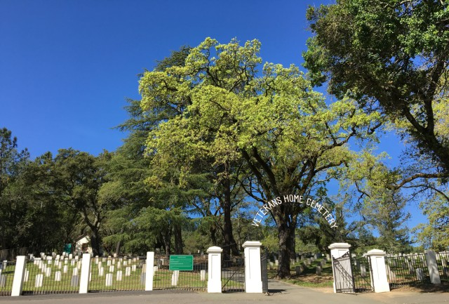 e-Veterans Home cemetery entrance